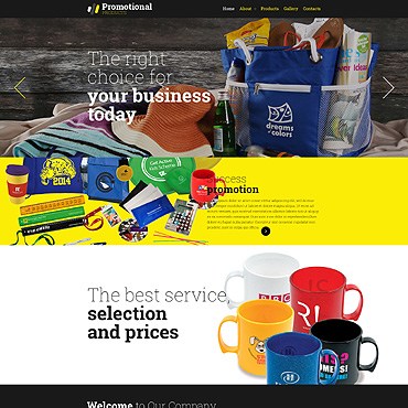 Print Shop Responsive Website Template