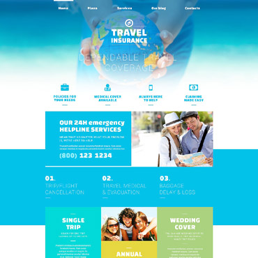 Travel Responsive Joomla Template