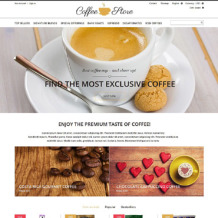 Coffee Shop Responsive PrestaShop Theme