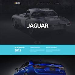 Car Club Responsive Moto CMS 3 Template