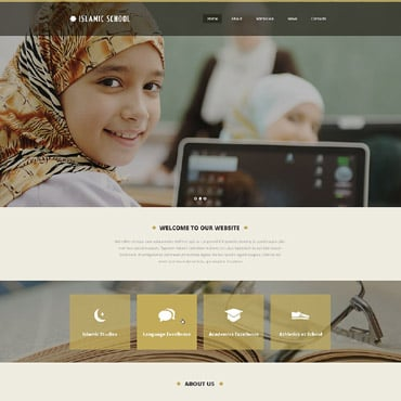 Religious School Responsive Website Template