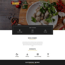 Catering Responsive Joomla Template