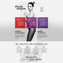Plastic Surgery Responsive Website Template