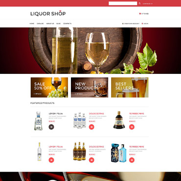 Food & Drink Responsive VirtueMart Template