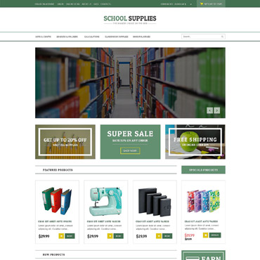 Education Responsive VirtueMart Template