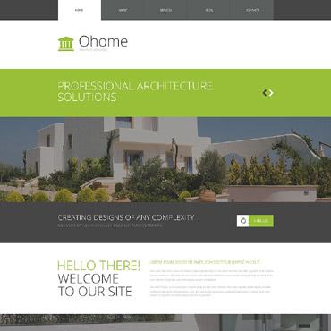 Architecture WordPress Theme #53381