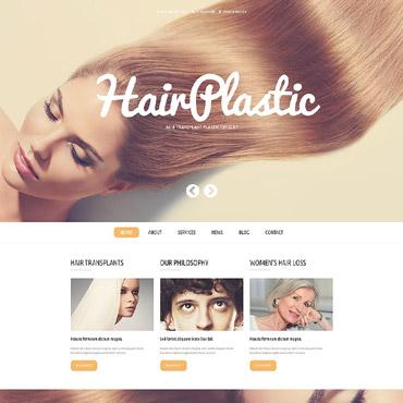 Hair Clinic Responsive WordPress Theme