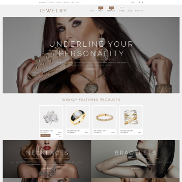 Jewelry Responsive WooCommerce Theme