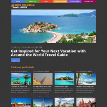 Travel Agency Responsive WordPress Theme
