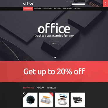 Office Responsive PrestaShop Theme