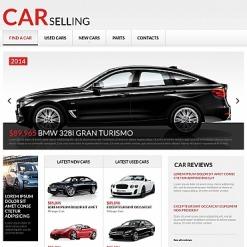 Car Rental Moto CMS HTML Template