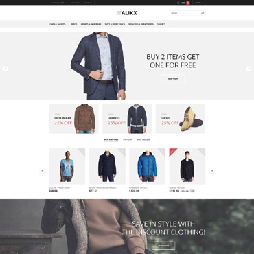 Fashion Store Responsive PrestaShop Theme
