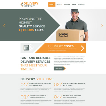 Provide Service to More People Joomla Template #53693
