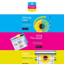 Print Shop Responsive Newsletter Template