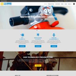 Fire Department Responsive Website Template