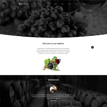 Winery Responsive Website Template