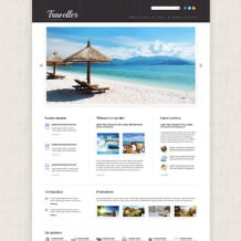Travel Agency Responsive Website Template