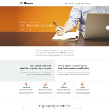 Narayan WordPress Theme #53881