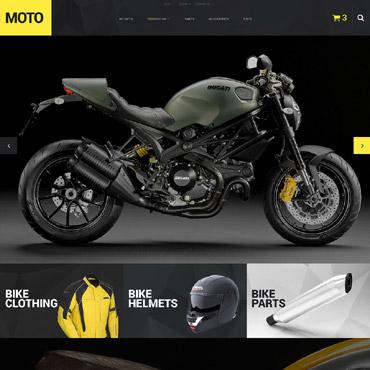 Motor Sports Responsive PrestaShop Theme