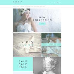 Wedding Shop Responsive OpenCart Template