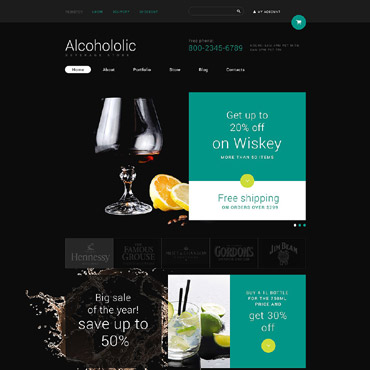 Food & Drink Responsive WooCommerce Theme
