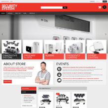 Security Responsive VirtueMart Template