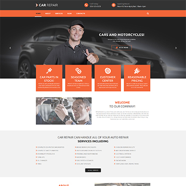 Cars and Bikes WordPress Theme #53985