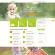 Babysitter Responsive WordPress Theme