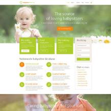 Babysitter Responsive WordPress Theme