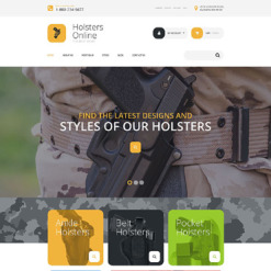 Hunting Responsive WooCommerce Theme
