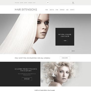 Hair Salon Responsive WooCommerce Theme