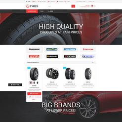 Wheels & Tires Responsive Magento Theme