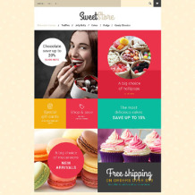 Sweet Shop PrestaShop Theme