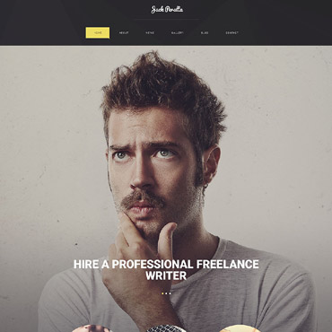 Writer/Author Responsive WordPress Theme