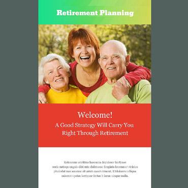 Retirement Planning Responsive Newsletter Template