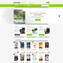 Book Store Responsive OpenCart Template