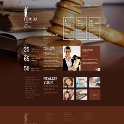Law Firm Moto CMS HTML Template