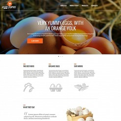 Poultry Farm Moto CMS HTML Template