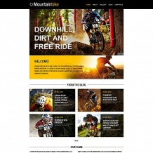 Cycling Moto CMS HTML Template