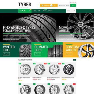 Wheels & Tires Responsive Shopify Theme