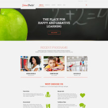 Elementary School Responsive WordPress Theme