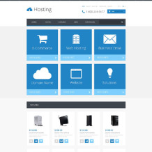 Hosting Responsive OpenCart Template