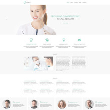 Dentistry Responsive Drupal Template