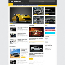 Car Rental Responsive WordPress Theme