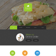 Delivery Services Responsive Joomla Template