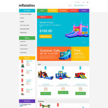 Baby Store Responsive OpenCart Template