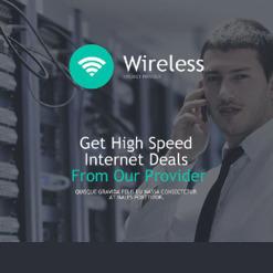 ISP Responsive Newsletter Template