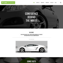 Car Insurance Responsive WordPress Theme