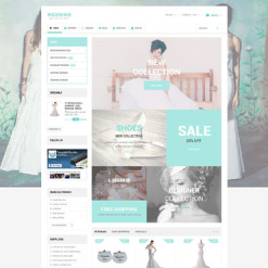 Wedding Shop Responsive PrestaShop Theme