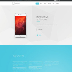 Software Company Responsive Drupal Template
